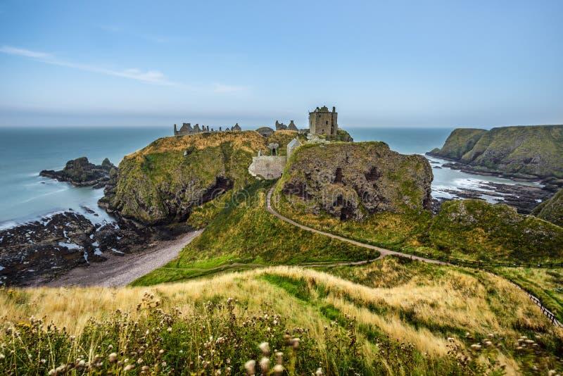 Castelo de Dunnottar, Scotland imagens de stock