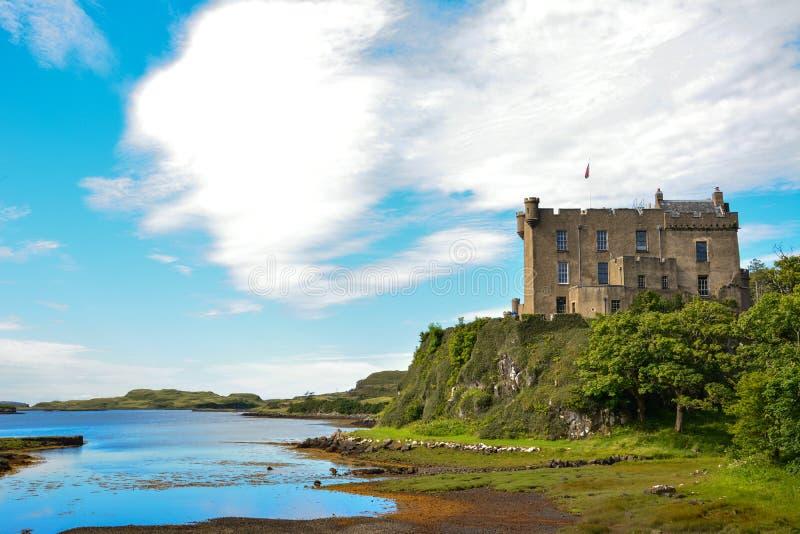 Castelo de Dunvegan imagem de stock royalty free