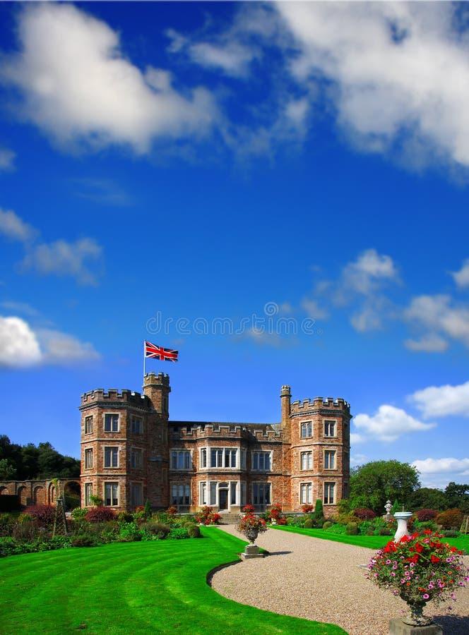 Castelo de Edgcumbe da montagem, Plymouth, Reino Unido imagens de stock