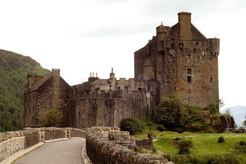 Castelo de Eilean Donan fotos de stock royalty free