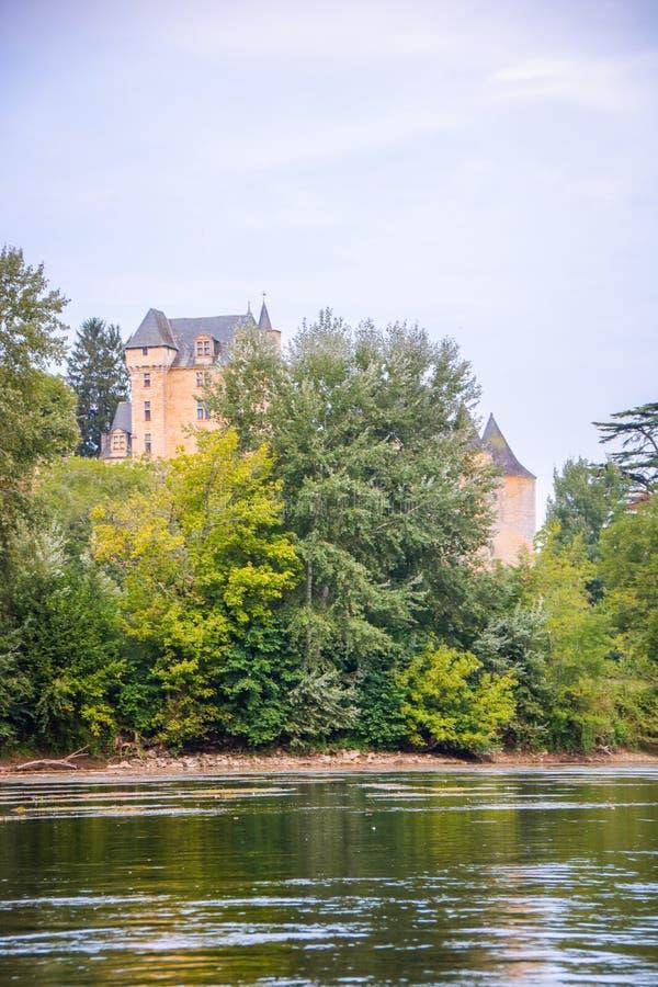 Castelo de fayrac imagem de stock