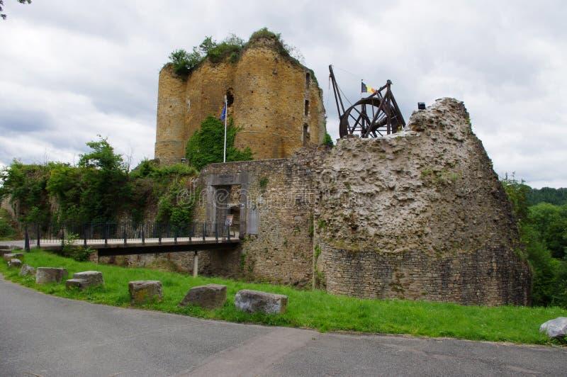 Castelo de Franchimont em Bélgica foto de stock royalty free