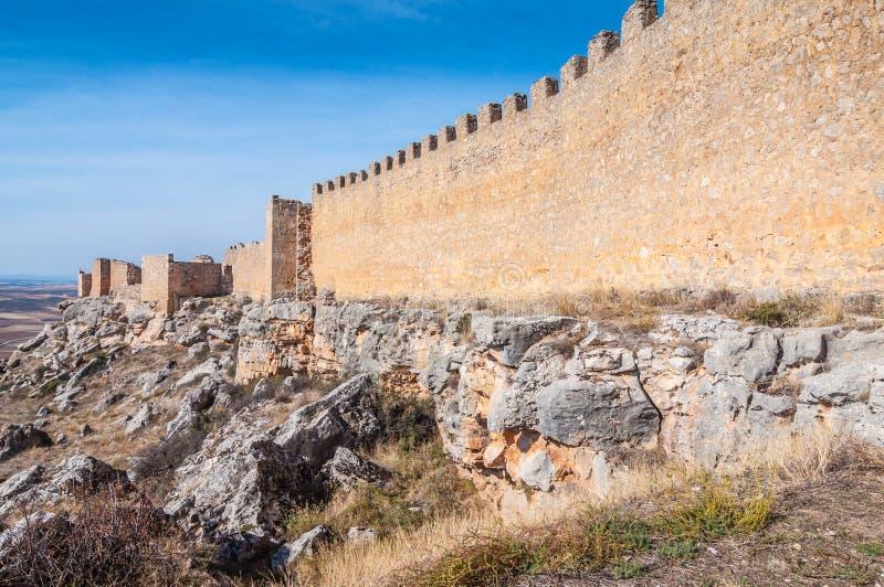 Castelo de Gormaz fotos de stock