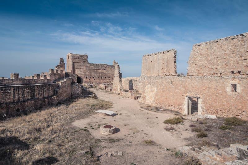 Castelo de Gormaz imagens de stock royalty free