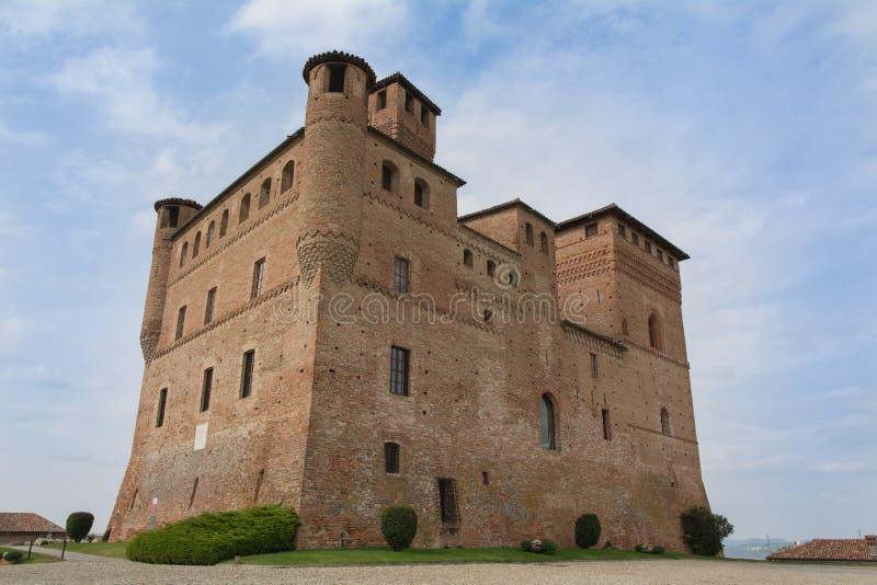 Castelo de Grinzane Cavour foto de stock royalty free