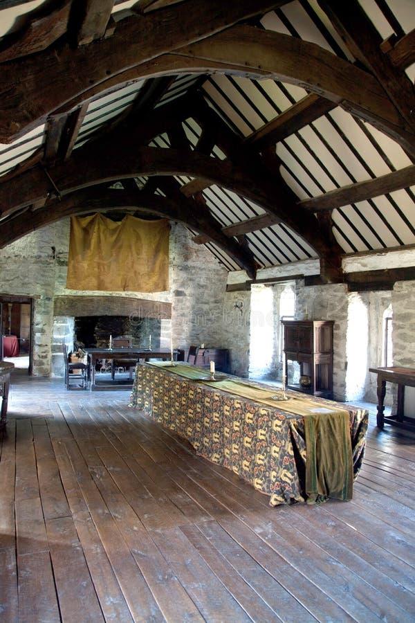 Castelo de Gwydir fotografia de stock royalty free