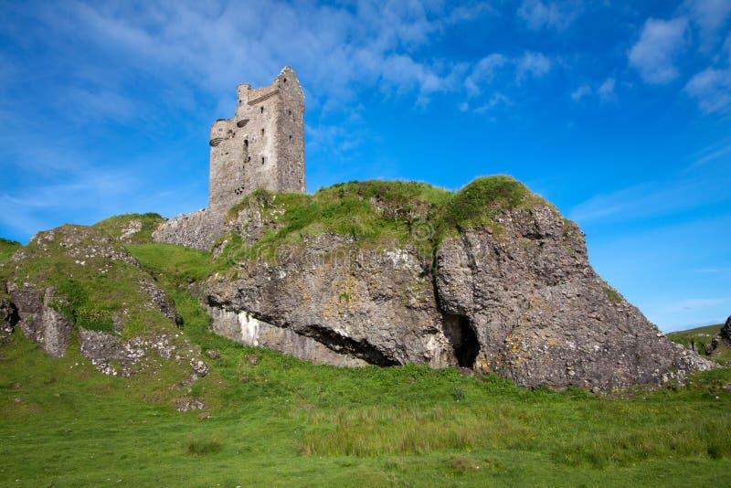 Castelo de Gylen, Kerrera, Argyll e Bute, Escócia fotos de stock royalty free