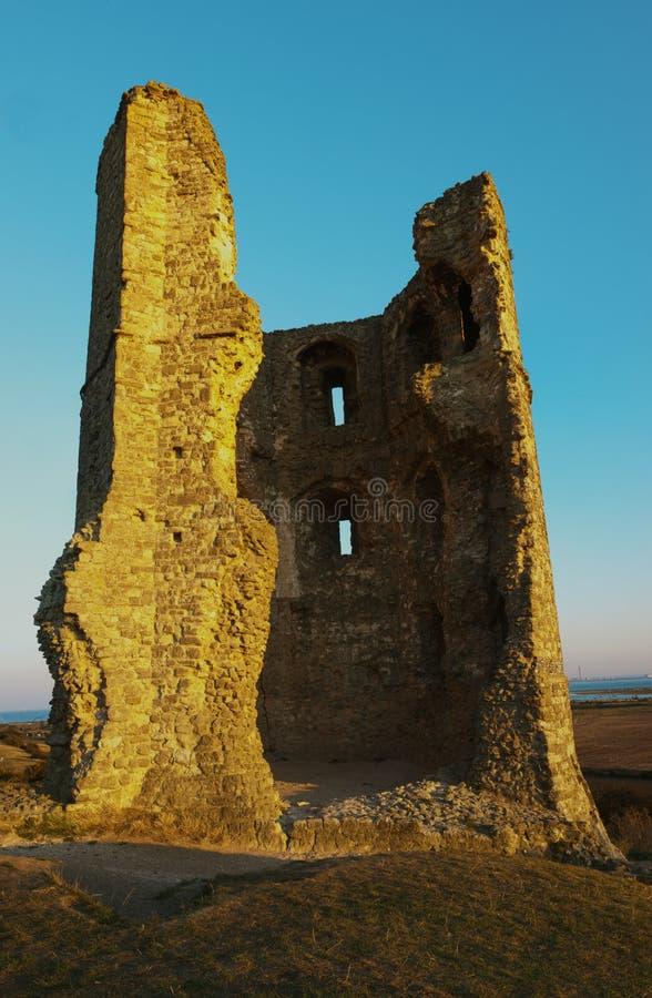 Castelo de Hadleigh fotos de stock royalty free