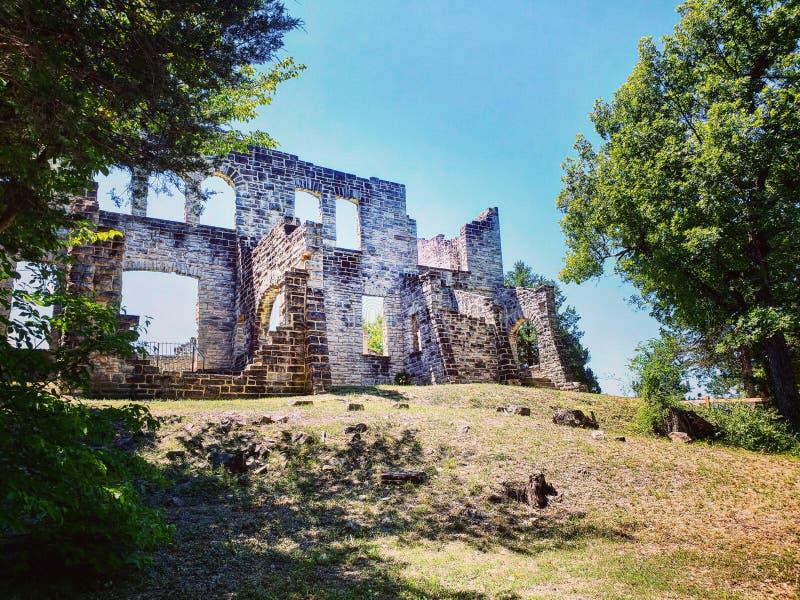 Castelo de Haha Tonka foto de stock