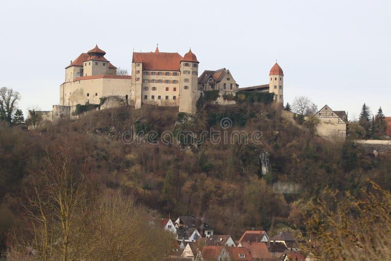 Castelo de Harburg foto de stock