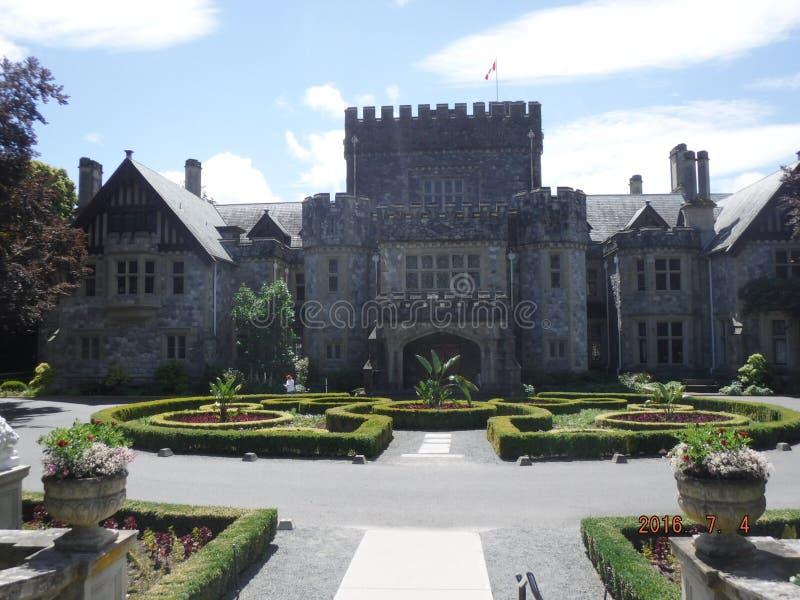 Castelo de Hatley imagem de stock royalty free