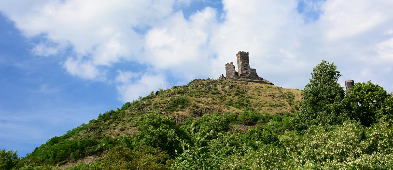 Castelo de Hazmburk foto de stock royalty free