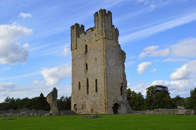 Castelo de Helmsley imagens de stock royalty free