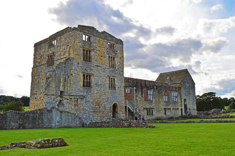 Castelo de Helmsley foto de stock royalty free