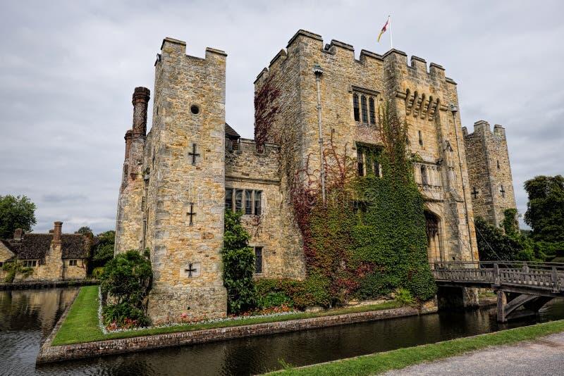 Castelo de Hever fotos de stock royalty free