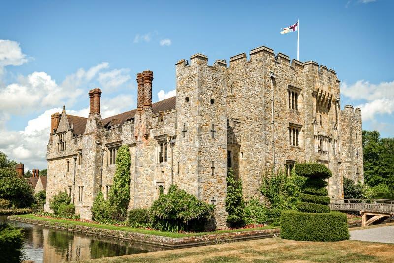 Castelo de Hever em Inglaterra fotografia de stock royalty free