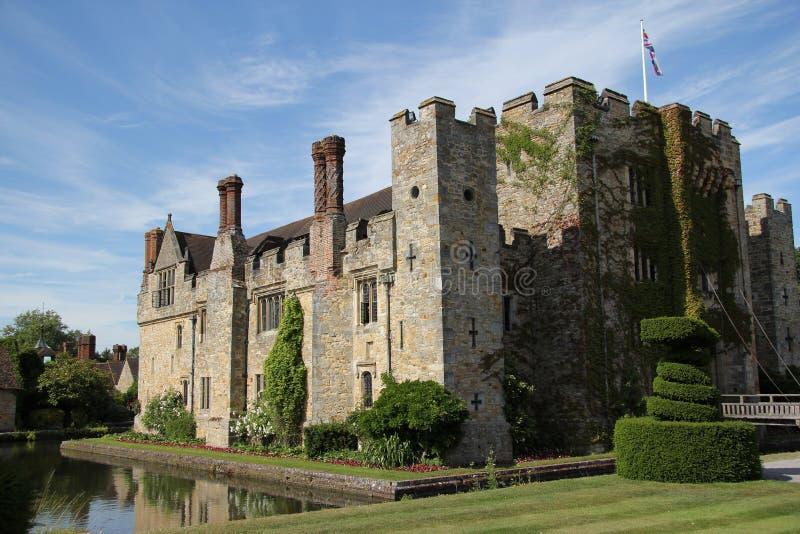 Castelo de Hever em Kent fotos de stock