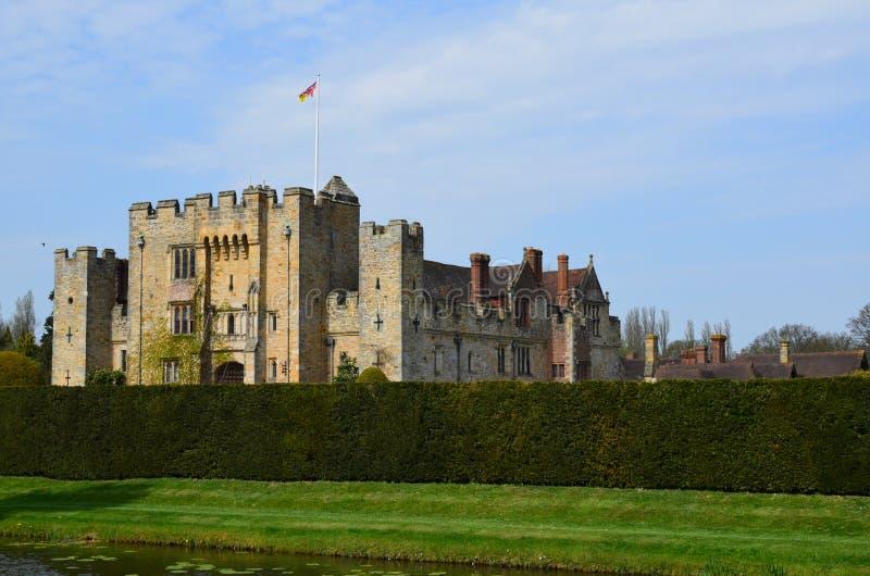Castelo de Hever em Kent England imagens de stock