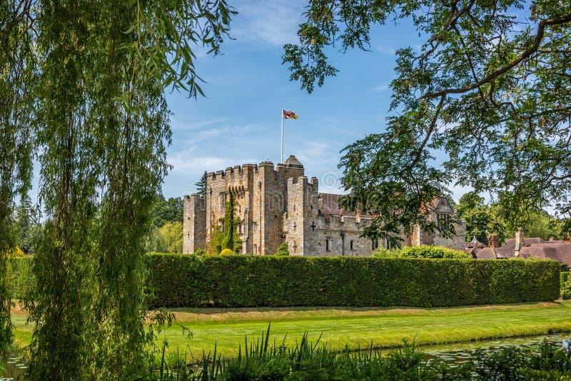 Castelo de Hever em Kent, Inglaterra fotografia de stock royalty free