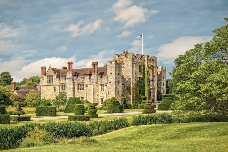 Castelo de Hever em Kent, Inglaterra imagens de stock royalty free
