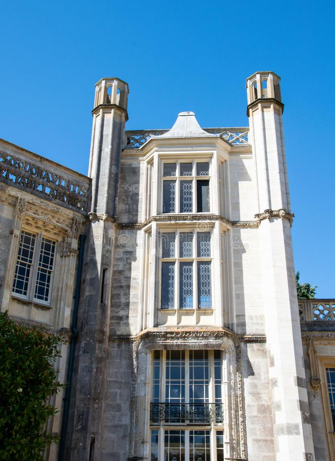 Castelo de Highcliffe imagem de stock royalty free