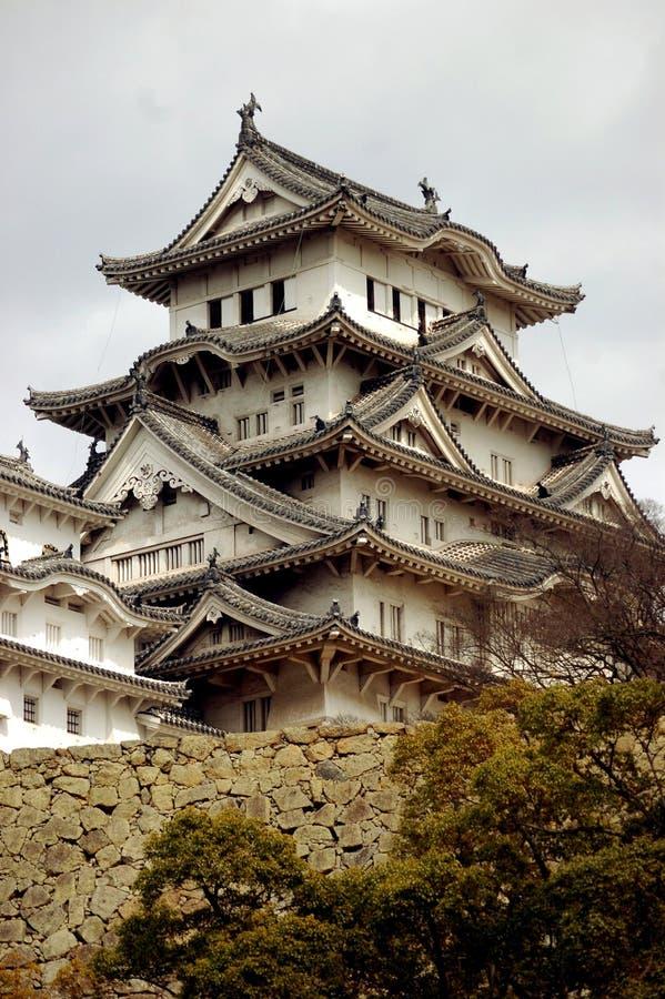 Castelo de Himeji fotografia de stock