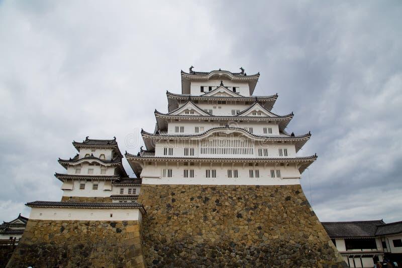 Castelo 3 de Himeji imagem de stock royalty free