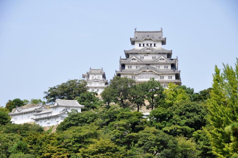 Castelo de Himeji em Japão imagem de stock
