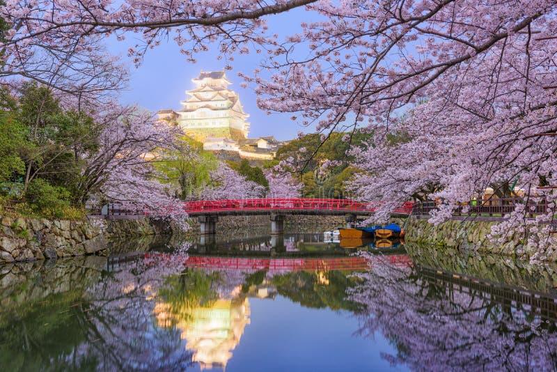 Castelo de Himeji, Japão imagens de stock royalty free