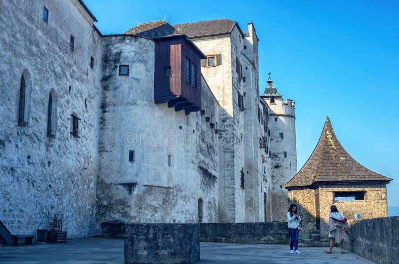 Castelo de Hohensalzburg foto de stock royalty free