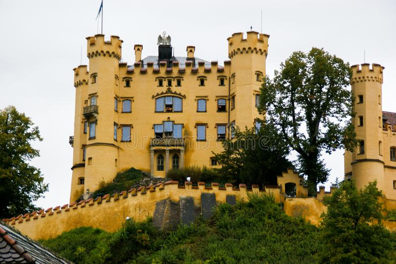 Castelo de Hohenschwangau fotos de stock royalty free