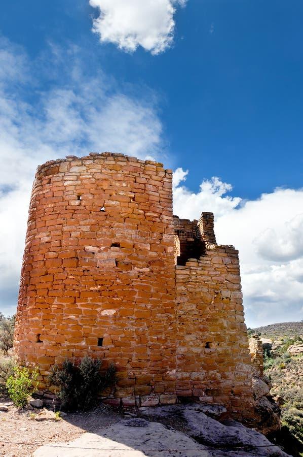 Castelo de Hovenweep imagem de stock royalty free