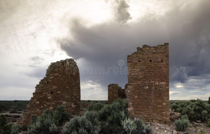 Castelo de Hovenweep foto de stock
