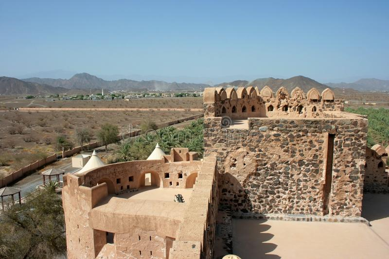 Castelo de Jabreen imagem de stock
