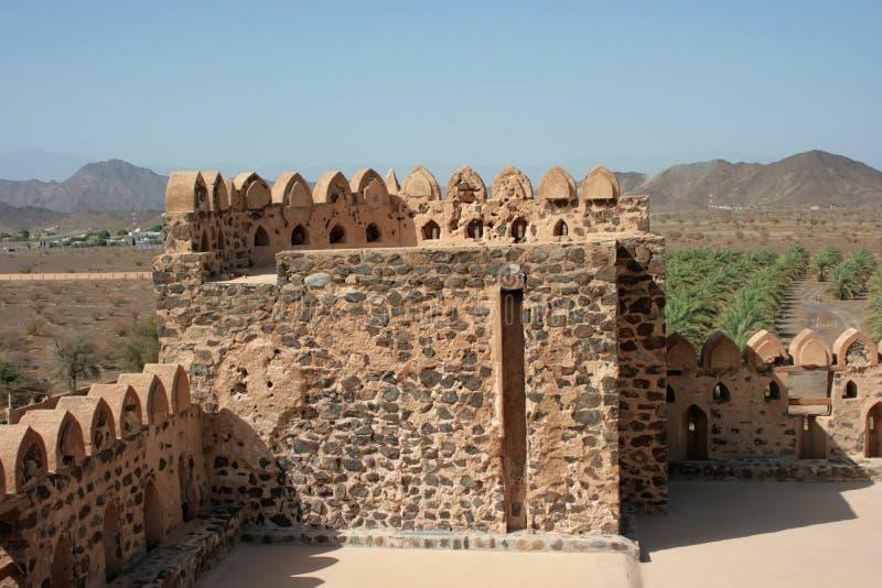 Castelo de Jabreen imagem de stock royalty free
