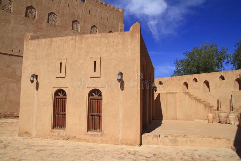 Castelo de Jabrin imagens de stock