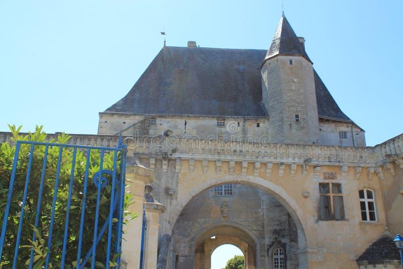 Castelo de Jonzac (França) imagem de stock royalty free