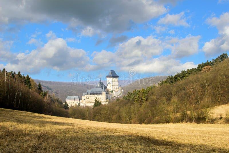 Castelo de Karlstejn foto de stock