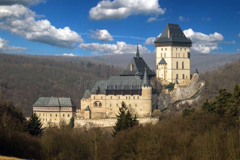 Castelo de Karlstejn imagem de stock