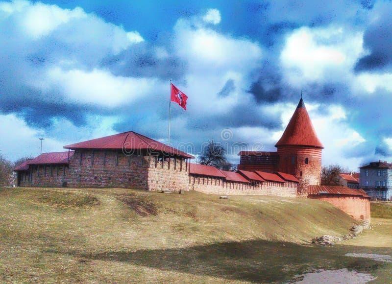 Castelo 2 de Kaunas foto de stock royalty free