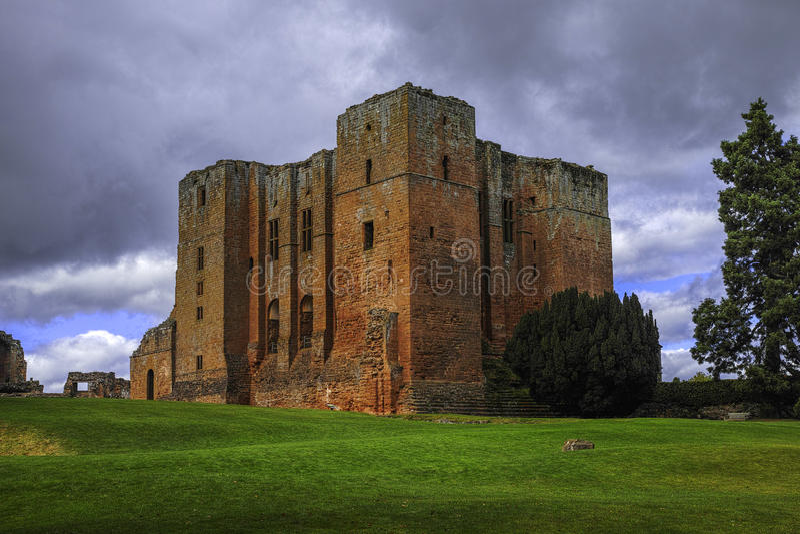 Castelo de Kenilworth foto de stock