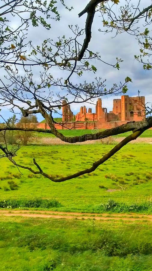 Castelo de Kenilworth fotografia de stock royalty free