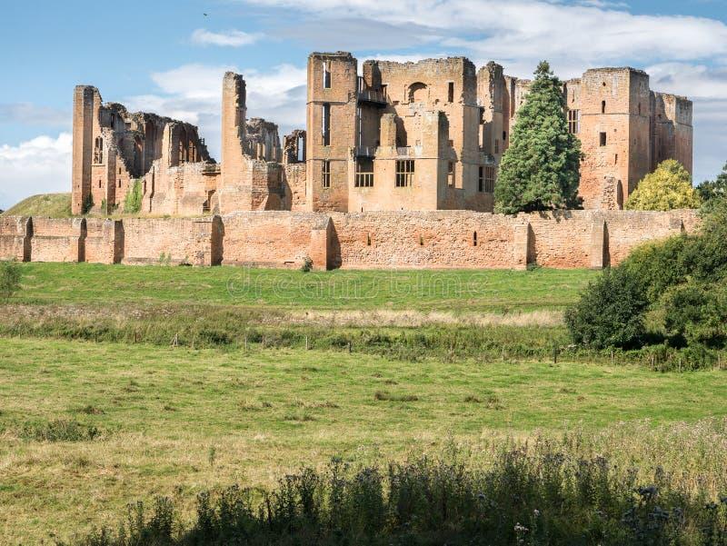 Castelo de Kenilworth fotos de stock