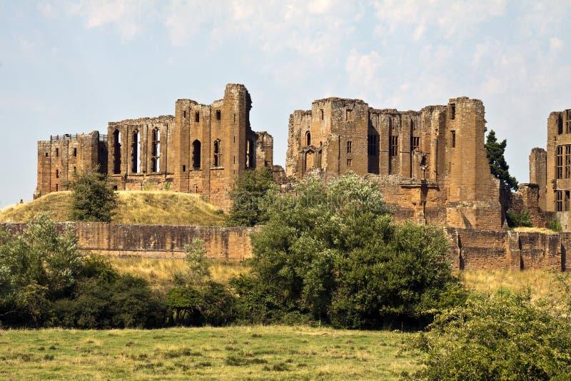 Castelo de Kenilworth, Kenilworth, Warwickshire, Inglaterra, Reino Unido, fotografia de stock royalty free