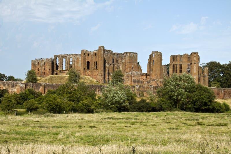 Castelo de Kenilworth, Kenilworth, Warwickshire, Inglaterra, Reino Unido, foto de stock