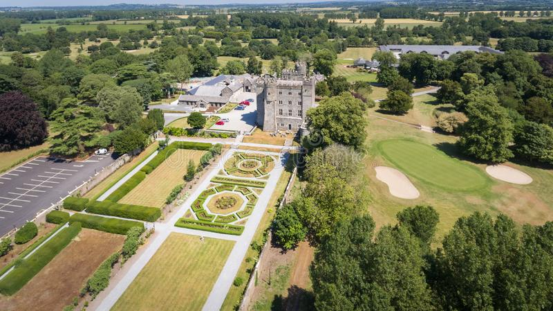 Castelo de Kilkea Castledermot condado Kildare ireland fotos de stock royalty free