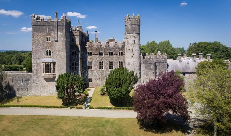 Castelo de Kilkea Castledermot condado Kildare ireland fotografia de stock