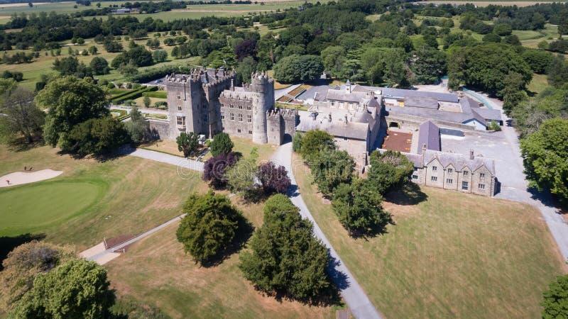 Castelo de Kilkea Castledermot condado Kildare ireland imagens de stock royalty free