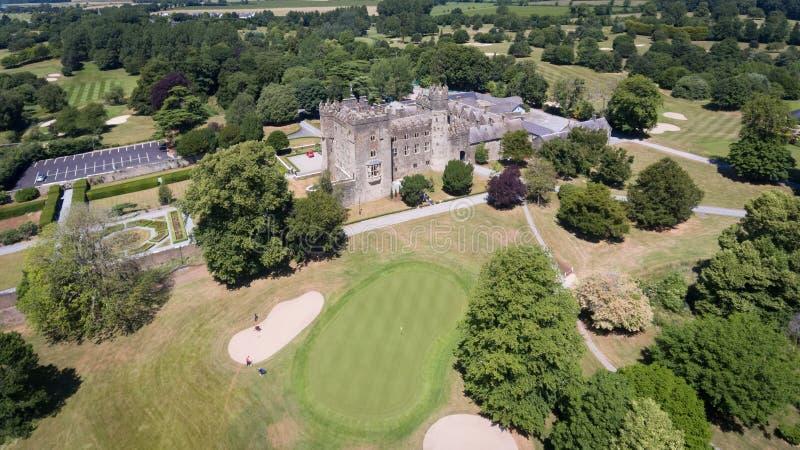 Castelo de Kilkea Castledermot condado Kildare ireland imagem de stock