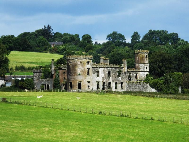 Castelo de Kilwaughter imagem de stock royalty free